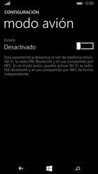 Microsoft Lumia 640 - Funciones básicas - Activar o desactivar el modo avión - Paso 5