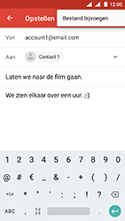 Nokia 3 - Android Oreo - E-mail - e-mail versturen - Stap 9