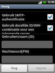 LG C660 Optimus Pro - E-mail - e-mail instellen: POP3 - Stap 13