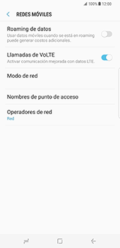 Samsung Galaxy S8 Plus - Red - Seleccionar una red - Paso 6