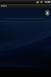 Sony Ericsson Xperia Mini Pro - Mms - Handmatig instellen - Stap 7