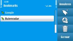 Nokia N97 - Internet - hoe te internetten - Stap 10