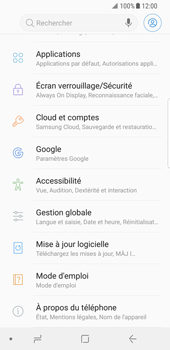 Samsung Galaxy S8 - Android Oreo - Appareil - Mises à jour - Étape 5
