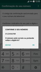 Samsung Galaxy A5 - Aplicações - Como configurar o WhatsApp -  7