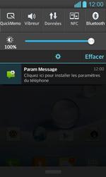 LG P710 Optimus L7 II - Paramètres - Reçus par SMS - Étape 4