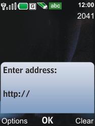 Nokia 6600i slide - Internet - Internet browsing - Step 4