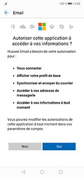 Huawei P20 Lite - E-mail - Configuration manuelle (outlook) - Étape 9
