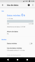 Sony Xperia XZ1 - Internet - Activar o desactivar la conexión de datos - Paso 7
