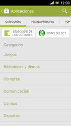 Sony Xperia J - Aplicaciones - Descargar aplicaciones - Paso 7