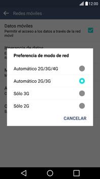 LG G4 - Red - Seleccionar el tipo de red - Paso 7