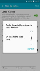 Samsung Galaxy A3 (2016) - Internet - Ver uso de datos - Paso 6
