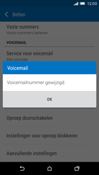 HTC One M9 (Model 0PJA100) - Voicemail - Handmatig instellen - Stap 10