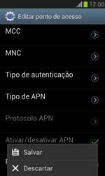 Samsung I8190 Galaxy S III Mini - Internet (APN) - Como configurar a internet do seu aparelho (APN Nextel) - Etapa 16