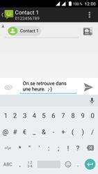 Crosscall Trekker M1 Core - Contact, Appels, SMS/MMS - Envoyer un SMS - Étape 9