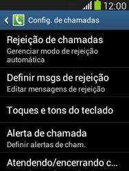 Samsung S5310B Galaxy Pocket Neo - Chamadas - Como bloquear chamadas de um número específico - Etapa 6