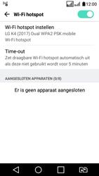 LG K4 (2017) (LG-M160) - WiFi - Mobiele hotspot instellen - Stap 11