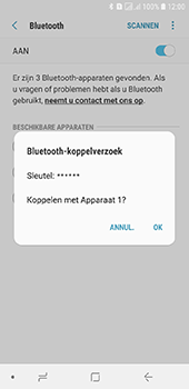 Samsung Galaxy J6 - Bluetooth - headset, carkit verbinding - Stap 8