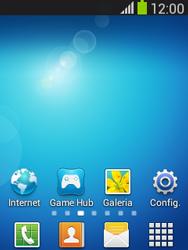 Samsung S5310B Galaxy Pocket Neo - Funções básicas - Como atualizar o software do seu aparelho - Etapa 1
