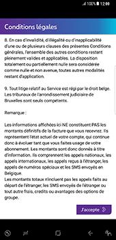 Samsung Galaxy S8 Plus - Applications - MyProximus - Étape 9