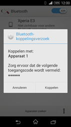 Sony D2203 Xperia E3 - Bluetooth - Koppelen met ander apparaat - Stap 7