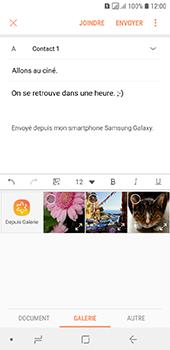 Samsung Galaxy A6 - E-mail - envoyer un e-mail - Étape 12