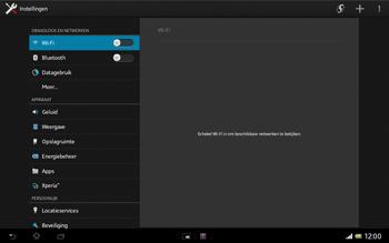 Sony SGP321 Xperia Tablet Z LTE - Bluetooth - Aanzetten - Stap 3