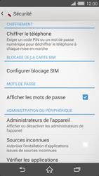 Sony Xperia Z2 - Sécuriser votre mobile - Personnaliser le code PIN de votre carte SIM - Étape 5