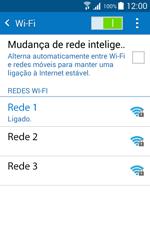 Samsung Galaxy J1 - Wi-Fi - Como ligar a uma rede Wi-Fi -  8