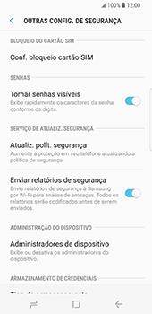 Samsung Galaxy S8 - Segurança - Como ativar o código PIN do cartão de telemóvel -  6