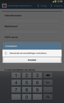 Samsung T315 Galaxy Tab 3 8-0 LTE - E-mail - Handmatig instellen - Stap 11
