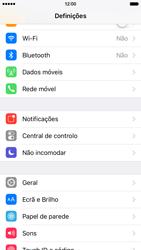 Apple iPhone 6 iOS 9 - Repor definições - Como repor definições de fábrica do telemóvel -  4
