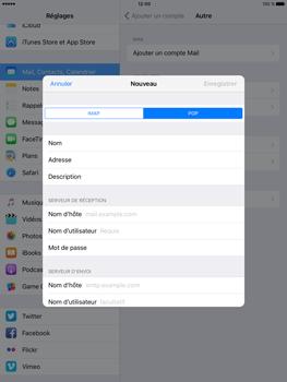 Apple iPad Pro (9.7) - E-mail - Configurer l