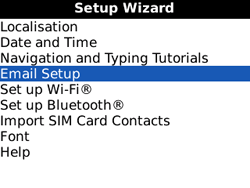 BlackBerry 8520 Curve - Email - Manual configuration POP3 with SMTP verification - Step 4