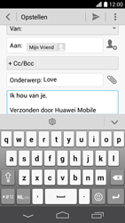 Huawei Ascend P6 (Model P6-U06) - E-mail - Hoe te versturen - Stap 10