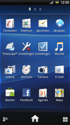 Sony Ericsson Xperia Ray - E-mail - e-mail versturen - Stap 2