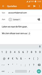 ZTE Blade V8 - E-mail - E-mails verzenden - Stap 10