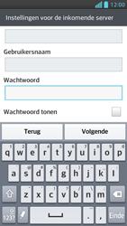 LG P875 Optimus F5 - E-mail - Handmatig instellen - Stap 12