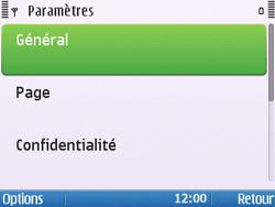 Nokia E5-00 - Internet - Configuration manuelle - Étape 23