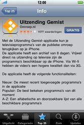 Apple iPhone 3G S - Applicaties - Downloaden - Stap 5