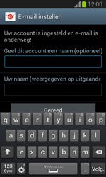 Samsung S7390 Galaxy Trend Lite - E-mail - e-mail instellen: IMAP (aanbevolen) - Stap 19