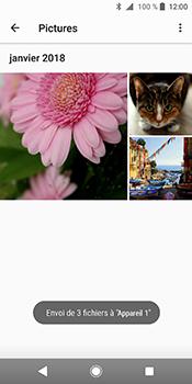 Sony Xperia XZ2 - Photos, vidéos, musique - Envoyer une photo via Bluetooth - Étape 15