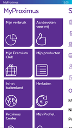 Nokia Lumia 830 - Applicaties - MyProximus - Stap 19