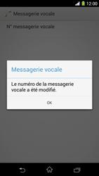 Sony C6903 Xperia Z1 - Messagerie vocale - configuration manuelle - Étape 10