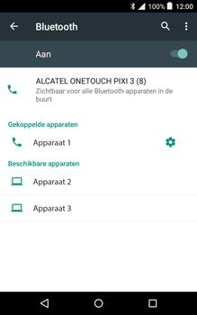 Alcatel Pixi 3 (8) - Bluetooth - Koppelen met ander apparaat - Stap 8