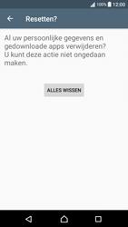 Sony Xperia XA - Android Nougat - Instellingen aanpassen - Fabrieksinstellingen terugzetten - Stap 7