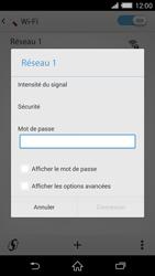 Sony D6503 Xperia Z2 - Wifi - configuration manuelle - Étape 6