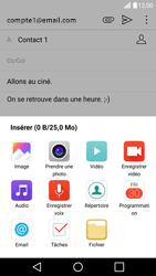 LG G5 - Android Nougat - E-mail - Envoi d