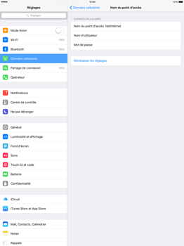 Apple iPad Pro 12.9 (1st gen) - iOS 9 - Internet - Configuration manuelle - Étape 6