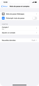 Apple iPhone XR - iOS 13 - E-mail - Configuration manuelle - Étape 15