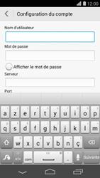 Huawei Ascend P7 - E-mail - Configuration manuelle - Étape 9